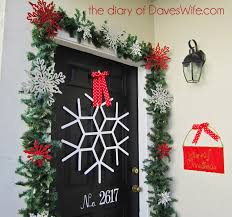 popsicle stick snowflake for the front door so cute