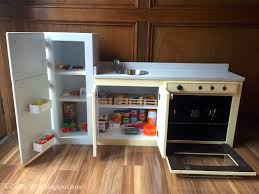 Play Kitchen From Old Furniture by A Crafty Wife Upcycle Old Cabinets Into A Toddler Play Kitchen