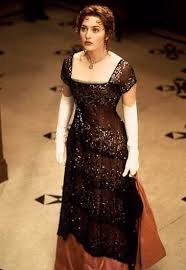Rose Titanic Halloween Costume Kate Winslet U0027s Evening Gown White Gloves Titanic Wedding