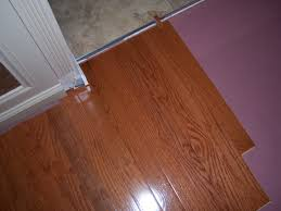 Laminate Flooring Door Transition Hardwood Floor Installation And Trim Work All About The House