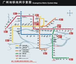 Guangzhou Metro Map by Interns At Canton Fair How To Get There