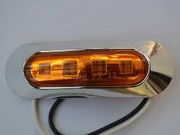 led truck marker lights free shipping 10 pcs 9 33v led side turn signal light side marker