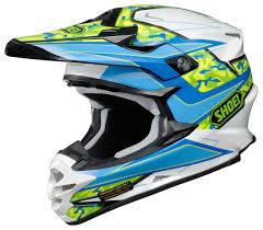 helmets motocross shoei vfx w turmoil helmet revzilla