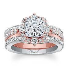 gold bridal sets barkev s two tone bridal set 8006s2tp