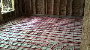 how we install radiant in floor heat