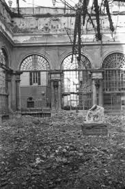 il cortile genova italia dopoguerra genova cortile di un palazzo quasi