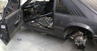 fox mustang drag car build single turbo mustang fabrication thefabforums com