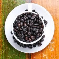 top view of coffee cup u2014 stock photo hin255 16193273