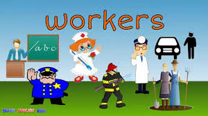 workers jobs occupations vocabulary spelling song chant for kids