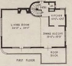 Art Deco Floor Plans Art Deco And Art Moderne Homes G L Horner Architect Art Deco