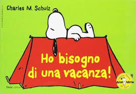celebrating peanuts 60 years 9788866208976 ho bisogno di una vacanza celebrate peanuts 60