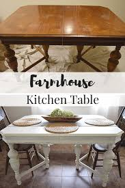 Kitchen Table Building Plans by Diy Farm Table Build Plans And Makeover Ideas Fox Hollow Cottage