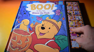 boo winnie pooh play sound book halloween sound