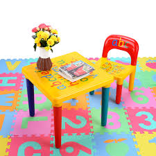 childrens plastic table and chairs children kids learning planner table activity alphabet children