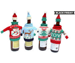 black friday groupon groupon black friday offer christmas wine spirit bottle covers
