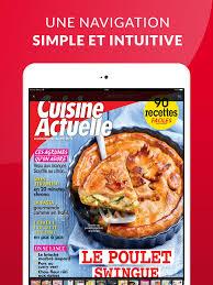 cuisine actuelle de l afrique cuisine actuelle le magazine dans l app store