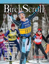 birch scroll results 2016 by american birkebeiner issuu