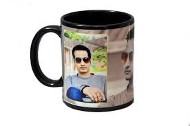 black mug white writing patch black patch mug black photo mugs