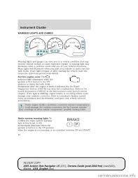 lincoln aviator 2005 owners manual