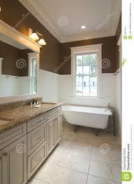 bathroom white clawfoot tub on white ceramic floor for bathroom