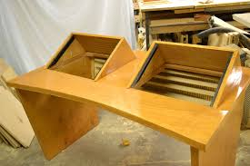 recording studio workstation desk buy a hand crafted recording studio desk made to order from