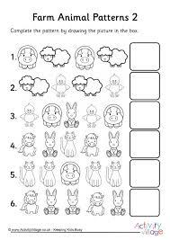 line pattern worksheet pattern worksheets