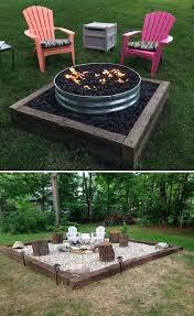 Patio Table With Built In Fire Pit - best 25 fire pit area ideas on pinterest back yard backyards