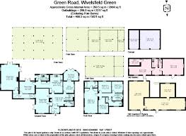 Gatwick Airport Floor Plan by 4 Bedroom Detached House For Sale In Green Road Wivelsfield Green
