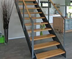 gerade treppe vario treppen plz 36179 bebra gerade treppe mit stahlwangen
