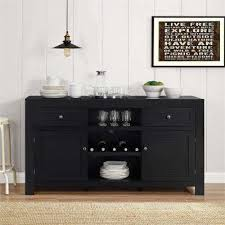Buffet Dining Room Furniture Classic Black Sideboards Buffets Kitchen Dining Room