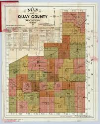 County Map Of New Mexico by Quay County New Mexico David Rumsey Historical Map Collection
