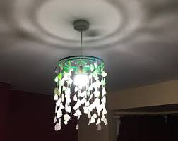 Beach Glass Chandelier Sea Glass Chandelier Etsy