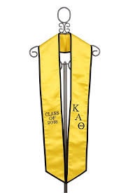 graduation stoles kappa alpha theta graduation stole 2018
