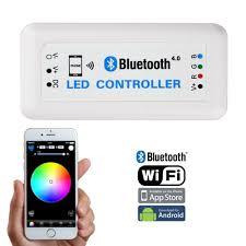 led strip lights wifi controller dc12 24v max 12a bluetooth 4 0 wifi control via ios android smart