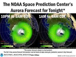 northern lights minnesota 2017 northern lights will be visible in minnesota sunday night