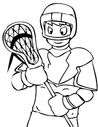 sports coloring pages coloringsuite