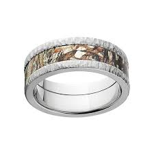 camo mens wedding bands mossy oak titanium men s camouflage duck blind wedding band free