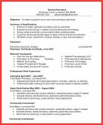 pharmacy technician resume exle pharmacy technician resume canada senior certified sle template