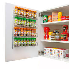 Kitchen Cabinet Spice Rack Organizer Chrome Spice Rack