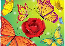 pictures of flowers and butterflies 7856 free downloads