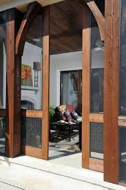 Sliding Screen Patio Door Screen Porch Sliding Screened Barn Doors What An Awesome Way To