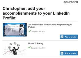 Coursera Courses On Resume Introducing A New Way To Add Certifications To Your Linkedin