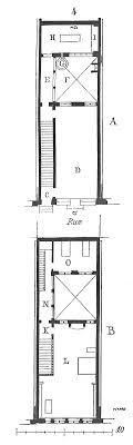 plan de maison 4 chambres avec age maison faã ade etroite