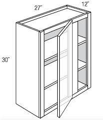 what to do with blind corner cabinet wbc2730 dover white 30 high wall blind corner cabinet