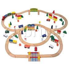 Making Wooden Toy Train Tracks by Best Train Sets For Making Your Kids Happy In 2017