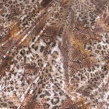 leopard fabric safari shine leopard pattern clear print sequins fabric 2847 leopard