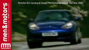 porsche coupe 2000 porsche 911 carrera 4 coupe performance car of the year 2000
