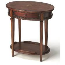 Oval Accent Table Accent Tables U2013 Luxe Wood Furnishings