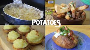 10 creative recipes using just a potato part 1 youtube