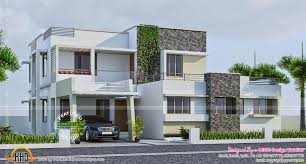 contemporary 289 square yards house elevation kerala home design